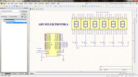 membuat jam digital dengan bascom jam digital manual bascom avr any project technology