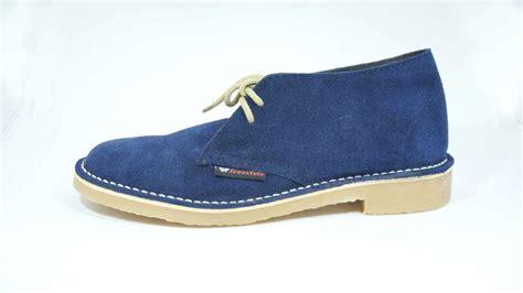 Handmade Shoes Cape Town - freestyle navy blue suede veldskoen unisex handmade