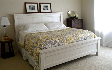 farmhouse king bed farmhouse bed plans ana white