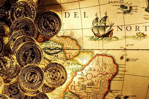 money gold coins card pirates wallpaper hd wallpaper