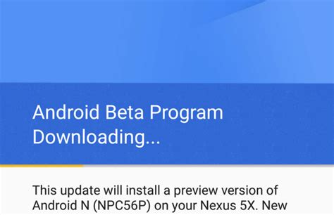 Android Beta Program by Android N Lance Android Beta Program La