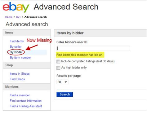 Search On Ebay Ebay Declares Open Season On Sellers