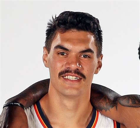 okc hair show steven adams unveils one heck of a mustache photo