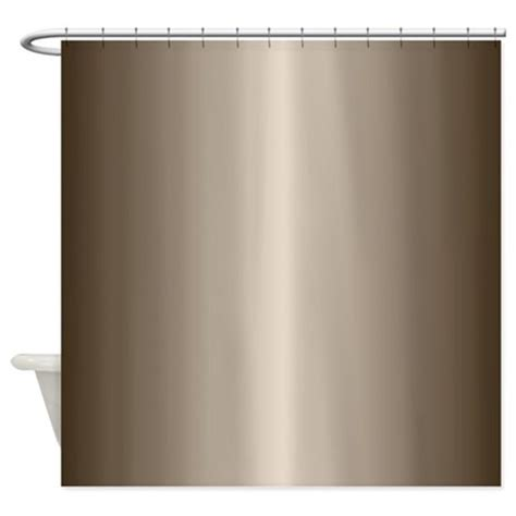 bronze shower curtain bronze metallic shiny looking shower curtain by