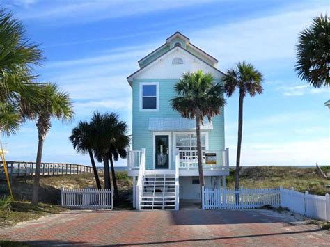 st george island cottage rentals american pie island cottages front st george
