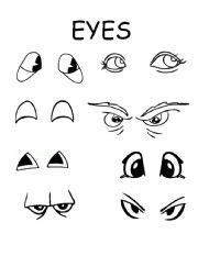 free printable eyes nose mouth best photos of printable witches mouth preschool
