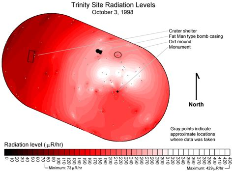 Trium Mba Requirements by Map Of Site Ionizing Radiation
