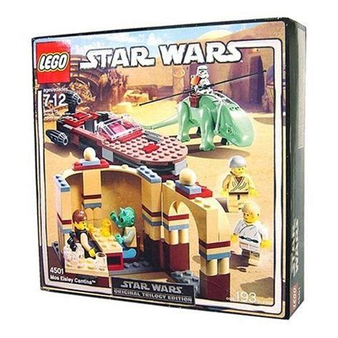 Lego Wars 8093 Plo Koons Jedi Starfighter Original lego wars 4501
