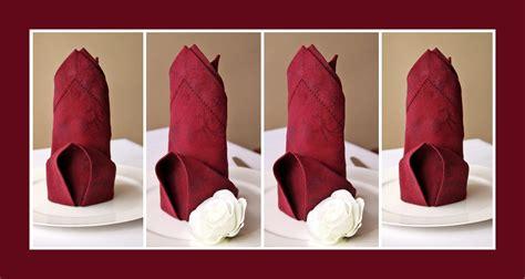 servietten hochzeit servietten falten hochzeit deko ideen