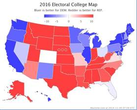 electoral college prediction 2016 just b cause