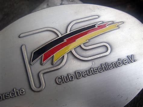 Porsche Club Deutschland by Porsche Club Deutschland Member Badge 356 911 912 Ebay