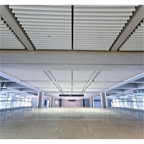 Linear Metal Ceiling Linear Metal Baffle Ceiling Lindner Free Bim