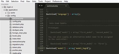 membuat database codeigniter membuat sistem login logout codeigniter dengan database