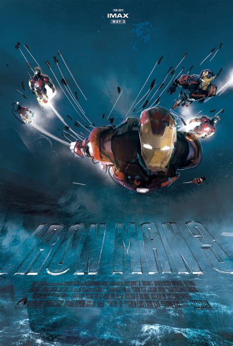 iron man alternate jock imax poster designs tv