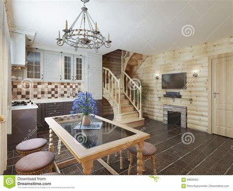 Res Escalier Intérieur by Cuisine Confortable Vide Grenier Int 195 169 Rieur Escalier Et
