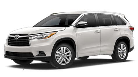 Toyota Highlander Rental Our Rental Rates Atkins Kroll Guam
