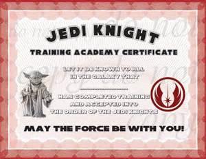 wars jedi certificate template free instant dl jedi certificate wars birthday