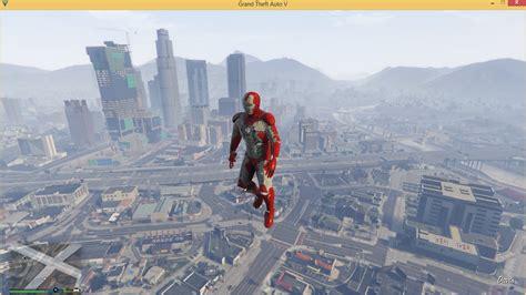 gta 5 ironman mod game free download iron man mark v gta5 mods com