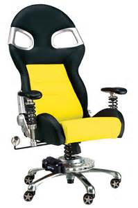 race car office chair yellow race car office chair