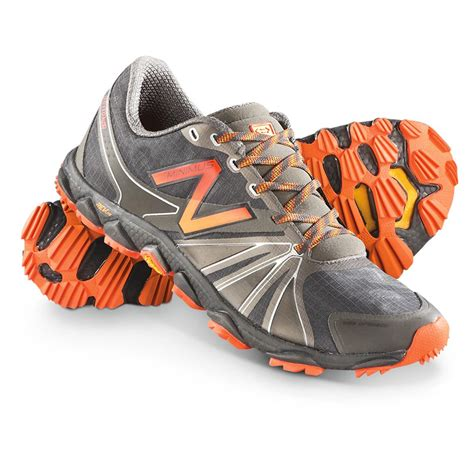 Sneakers Cewe New Balance s new balance minimus 1010v2 trail runner shoes gray orange 609827 running shoes
