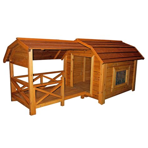 dimensions for large dog house the barn large outdoor dog house with same day shipping baxterboo
