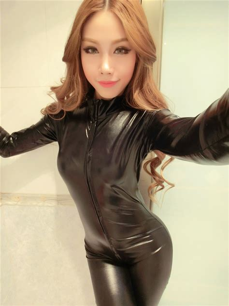 females in pvc getting haircuts online get cheap latex catsuit aliexpress com alibaba group