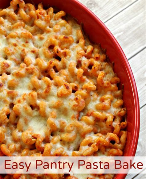 What I In Pantry Recipes by Easy Pantry Pasta Bake Recipe For When You Re On Time
