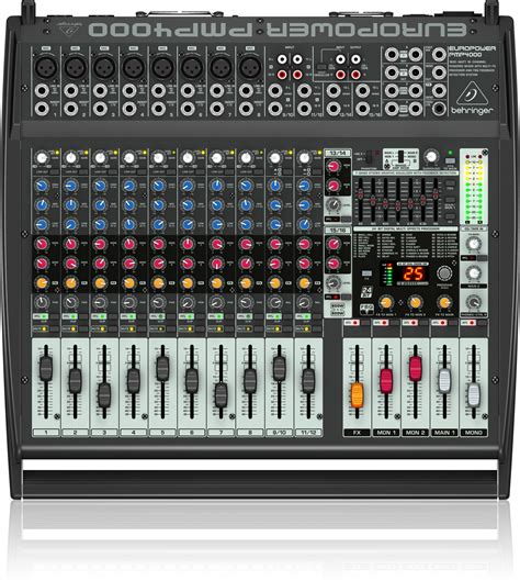 Power Mixer Behringer Pmp4000 pmp4000 powered mixers mixers behringer categories