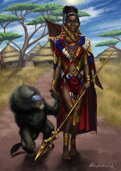 african american warrior princess fayola warrior by mateslaurentiu on deviantart blaque
