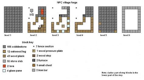 minecraft floor plans npc village buildings minecraft project