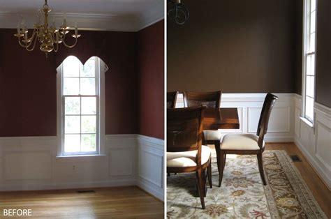 brown dining room benjamin moore s mocha brown 2107 20