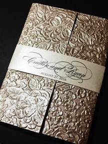 wedding invitations embossed paper embossed wedding invitation wedding invitations