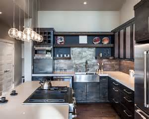 industrial kitchen beautiful homes design
