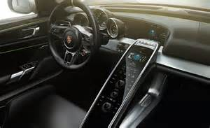 Porsche 918 Spyder Interior 2014 Porsche 918 Spyder Interior