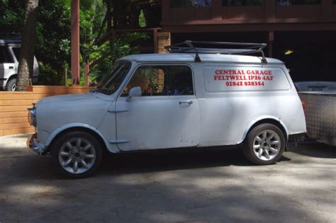 Mini Cooper Caravan 1972 Mini Cooper Clubman Commercial 1275 With