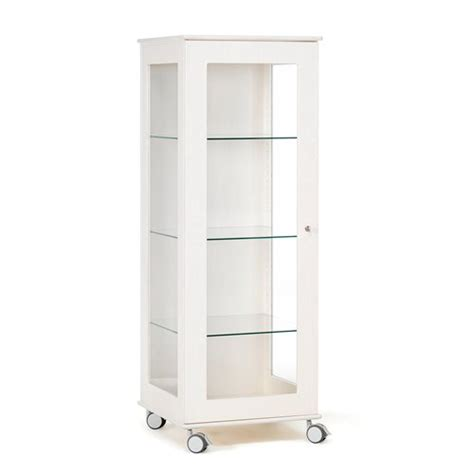 cabinet and expo mobile glass display cabinet expo 3 shelves 660x600x1600