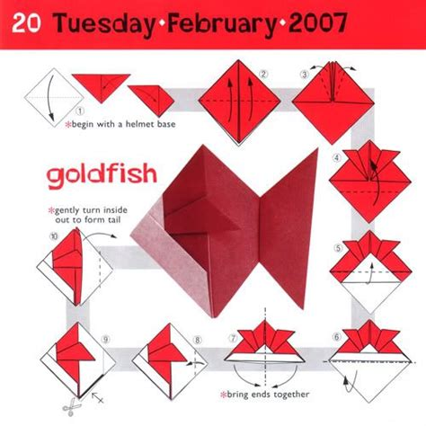 How To Make An Origami Goldfish - best 25 origami fish ideas on