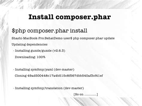 installing bootstrap via composer atdd with behat and selenium ldnse6