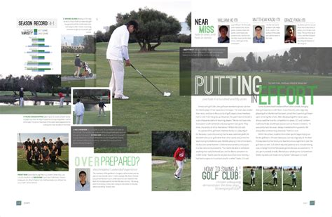 yearbook golf layout 1000 images about 2015 2016 yearbook ideas on pinterest