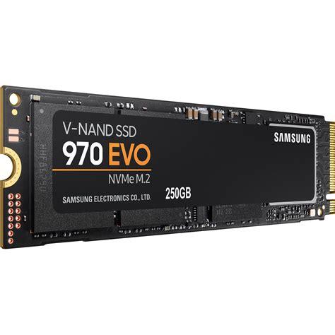 Samsung 970 Evo by Samsung 250gb 970 Evo Nvme M 2 Ssd Mz V7e250bw B H