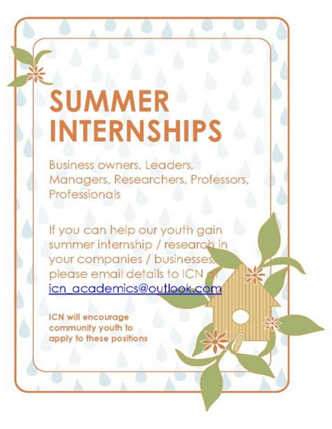 Summer Internship For Mba Finance 2016 by Academics Islamic Center Of Naperville