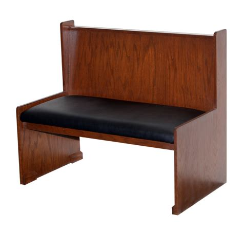 cushioned bench seats with backs wood bench with padded seat wood back