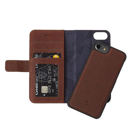 decoded iphone 7 leather 2 in 1 wallet stormfront