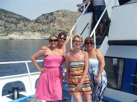 boat trip rhodes to lindos boat trip to lindos picture of kassandra family