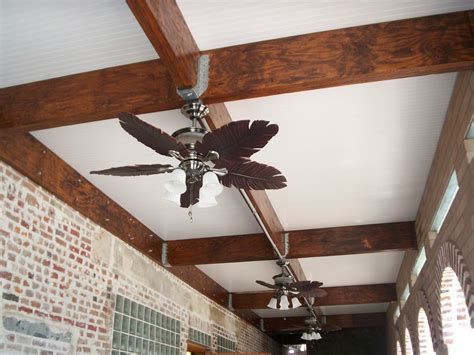 patio ceiling fan installation how to install deck lighting dry under deck area wahoo