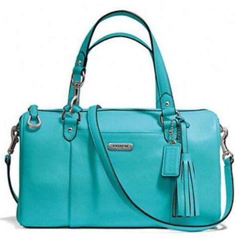 Coach Bag Turquoise by Coach Turquoise Handbags Purses Ebay