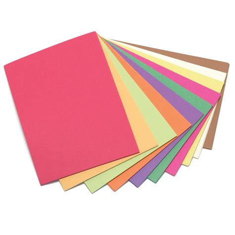 construction paper construction paper 100gsm a2 420mm x 594mm assorted pack