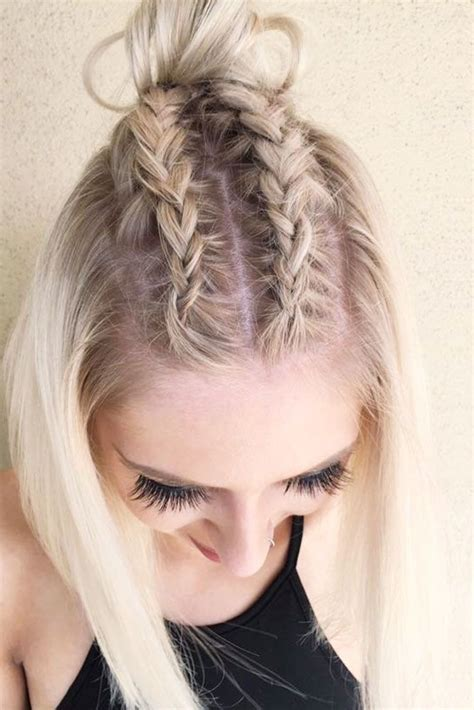 easy hairstyles with braids 18 dazzling ideas of braids for short hair simple braids