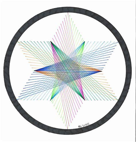 geometry symmetry mandala string regolo54 2015