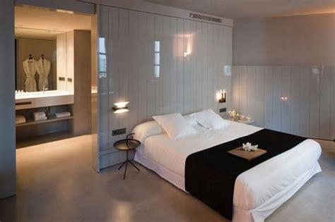 open plan bathroom and bedroom designs open badkamer van caro hotel badkamers voorbeelden